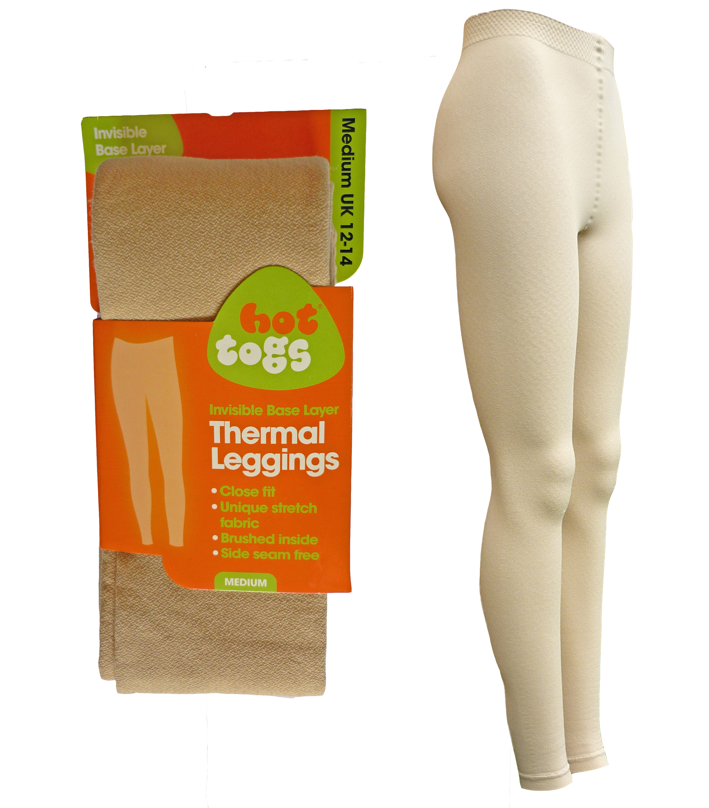 Nude Thermal Leggings Hot Togs